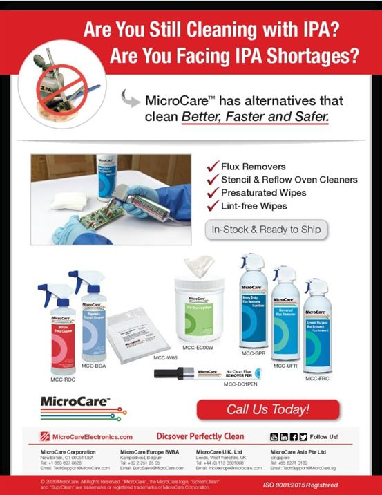 IPA Replacement Cleaning Products Flyer